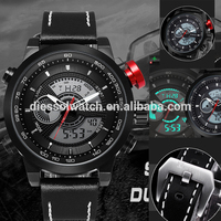 NORTH 2018 Men Watches Top Brand Luxury LED Quartz Watch