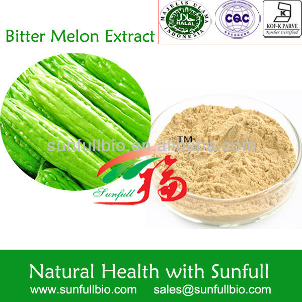 100% Natural Bitter Melon Extract /Bitter Melon Charantin