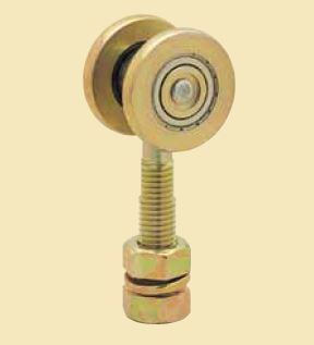 Hanging Sliding Door Hardware For Wooden Door Used At A Warehouse ...