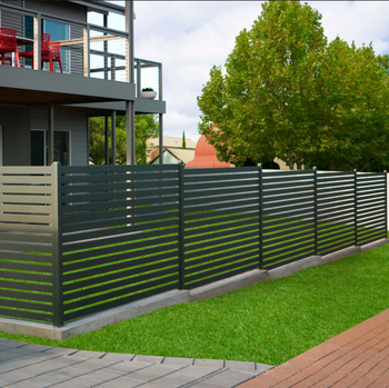 Privacy Fence Decorative Pool Swimming Safety Fences Powder Coated