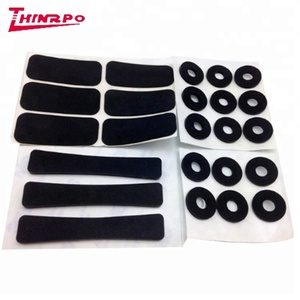Long life Kinds of Rubber Feet Block / Thin Rubber Feet Bumper / Rubber Flat Feet Pad with strong 3M adshieve