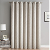 Curtain american style cotton linen blackout panel classic window curtains design