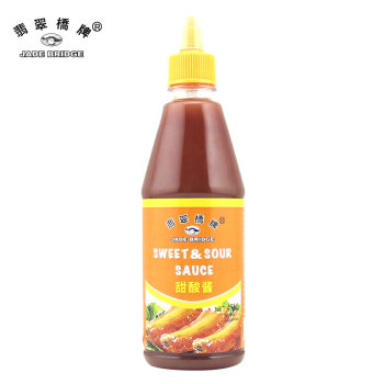 Best Tasting Chinese sweet sour sauce 495g screwed squeeze bottle sauce
