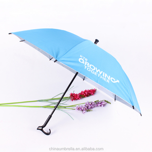 light & durable walking stick umbrella for mountaineering