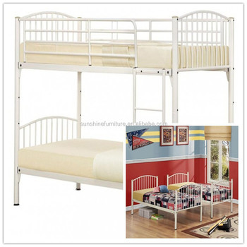 Wholesale Chinese Heavy Duty Steel Easy Assembly Metal Double Bunk