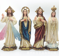 vigin mary Statue fatima sculpture maria figurine jesus