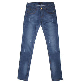 Gzy New Women Jeans Pants Jeans Embroidery Pocket Design