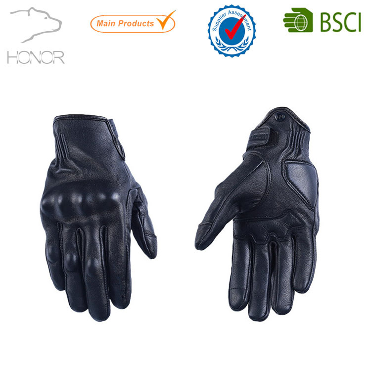 Motor Bike Sport Racing Synthetic leather Gloves