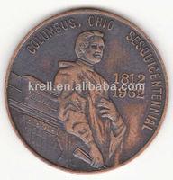 custom Columbus,Ohio 150th Year (1962) Commemorative antique Medal