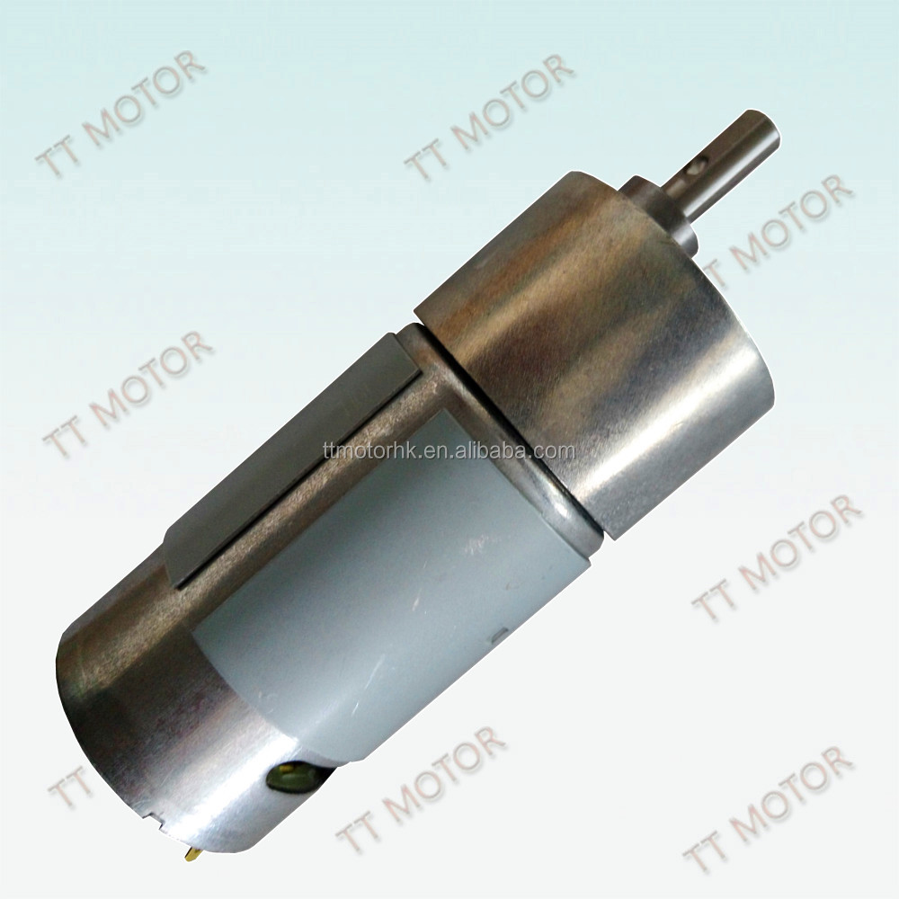 12v 24v dc motors with 580rpm for beauty device