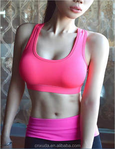 Aliexpress Women Sports Bra Yoga Fitness Padded Stretch Seamless Gym Tank Top Bra