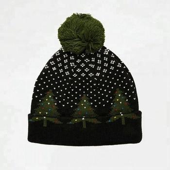 Guangjia Cheap Wholesale Knit Beanie With Ball Pompms Custom Sports Beanies  Hat Sport Team Knit Beanie 3b82829c10b