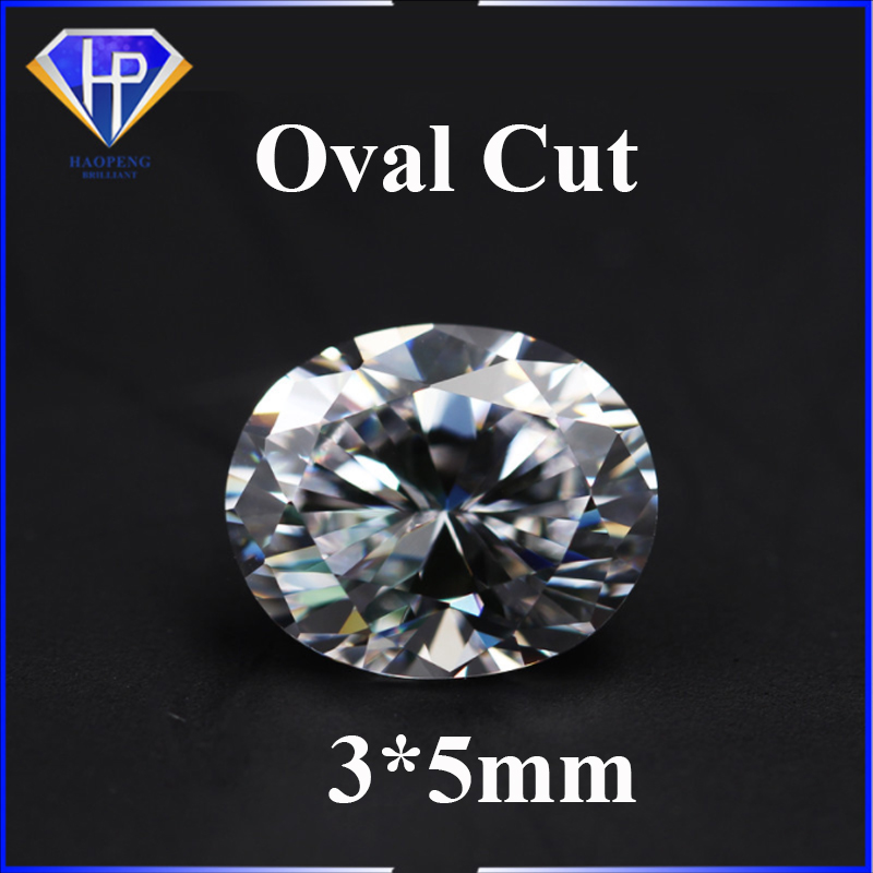 Quality Oval Cut Cubic Zirconia Loose Stone