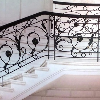 Simple Indoor Wrought Iron Railings Staircases Stair Design