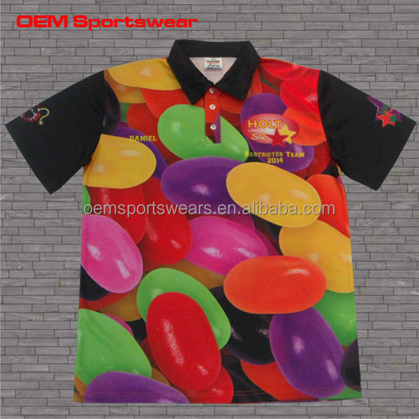 2014 Most Popular Polo Shirts Paintball Jersey