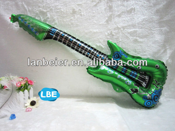 Party Balloons shape of guitar foil balloon