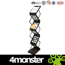 China wholesale cheap brochure holder floor stand / magzine holder