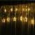 Hotsale Party Decoration Warm White Led Star Drop Curtain