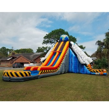 Commercial Inflatable Space Shuttle Water Slide - Buy Inflatable Space  Shuttle Water Slide,Inflatable Spaceship Water Slide,Space Shuttle Water  Slide