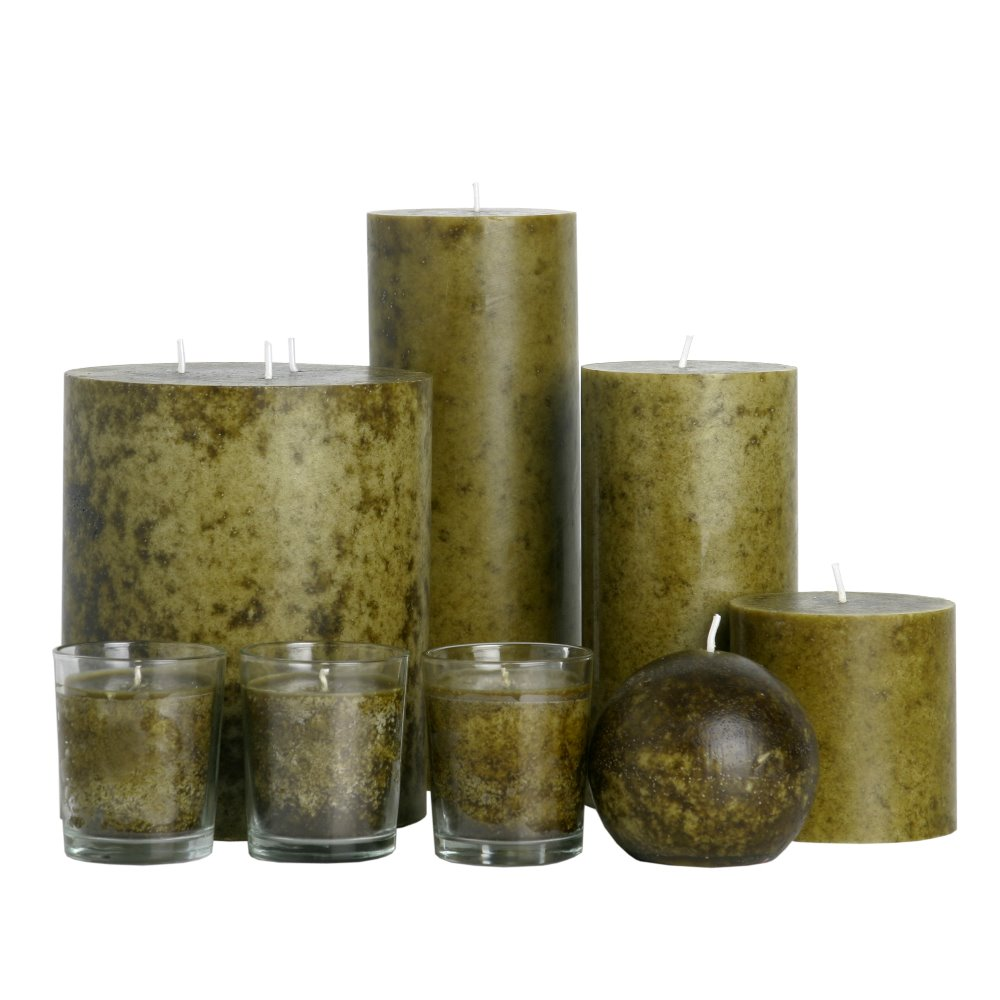 "6x6"",4x6"",4x9"" Cylindrical candle Customized Eco Friendly Pillar Candles"