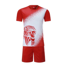 Sublimatie Custom Plain Men'S Kids Set Voetbal <span class=keywords><strong>Jersey</strong></span>