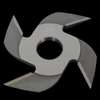 carbide tipped finger joint cutter 160x8.0x50x4 wings