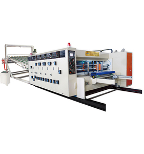 Electric Control Corrugated Board High Speed Flexo Printing Slotting Rotary Die Cutting Machine