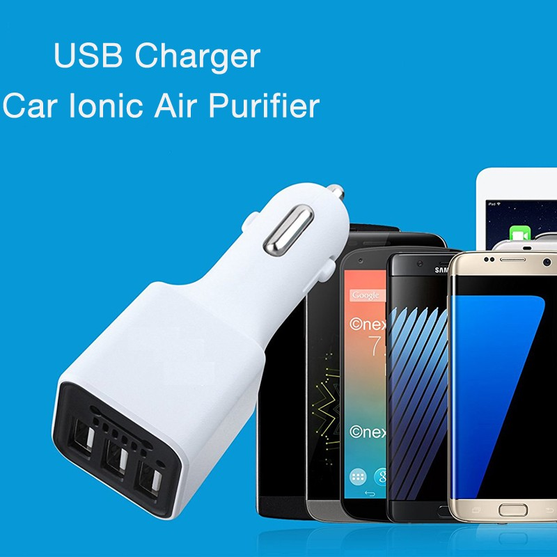 Car Air Purifier Car Charger New Innovative Daily Use Products