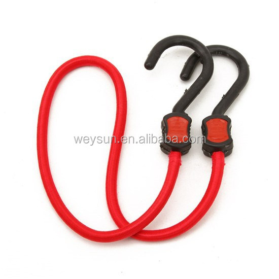 100pcs Rubber bungee cord to hook two cars with luggage <strong>elastic</strong> <strong>rope</strong> tied <strong>rope</strong>