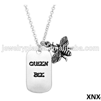 87aebc01a023c Queen Bee Necklace Sterling Silver Bumble Bee Charm Wholesale 2015 Jewelry  - Buy Bee Necklace,Necklace,Silver Jewelry Product on Alibaba.com