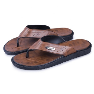 Hot producten heren zomer outdoor toevallige slippers PU slippers