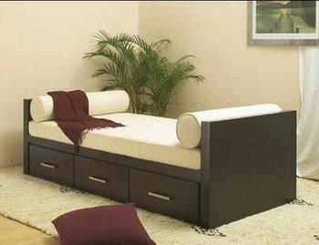 Sof cama con cajones de madera hecho buy sof cama for Sofa cama con cajones ikea