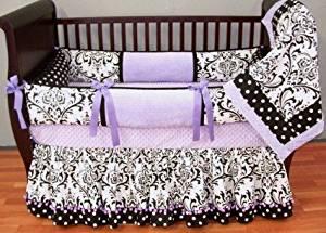 Modpeapod Delaney Lavender Breathable Baby Bedding Set