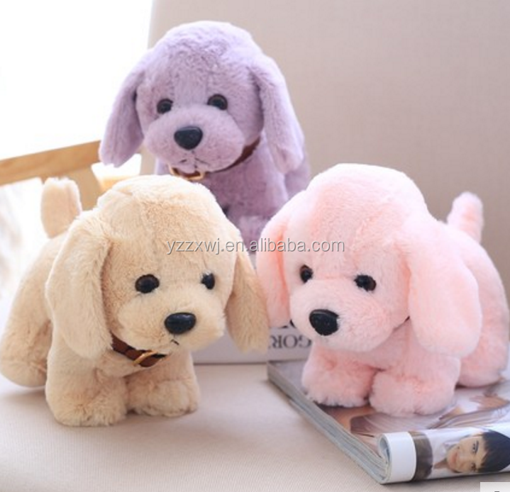 free sample 20cm stuffed dog toys comfortable wholesale soft dog stuffed plush plush dog stuffed animals