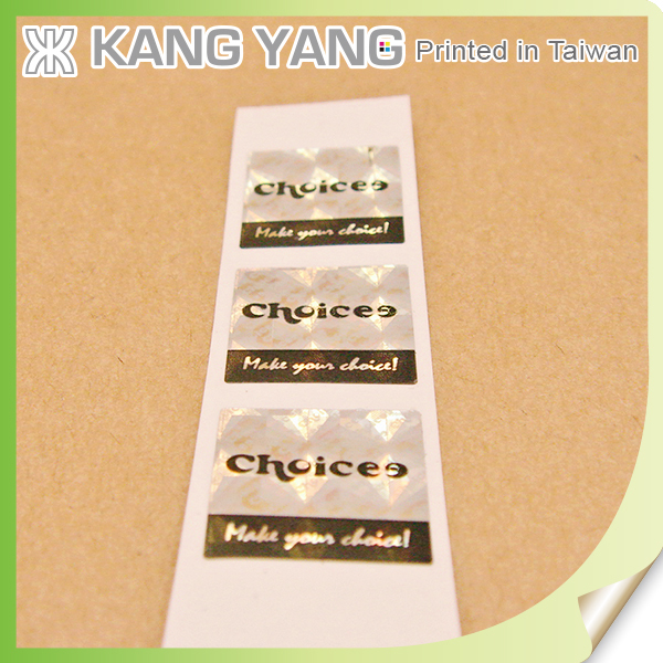 Watchstrap Custom Printing Tamper Evident Security Warranty Seal Stickers for Jar Label