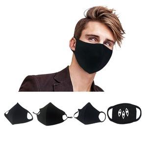 Dust Face Black Mouth Printing Cartoon Custom Cloth Shield Fabric Cotton Mask