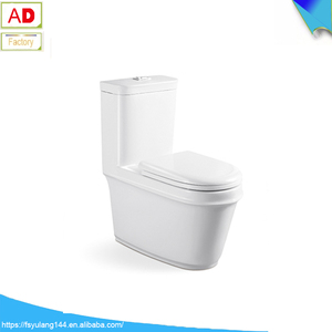 AD-8011 Modern One Piece Toilet, Sanitary Wares Colored Toilet Bowl one piece wc toliet
