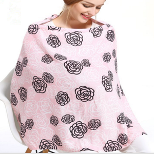 2018 Wholesale custom design breast feeding nursing cover with OEM service