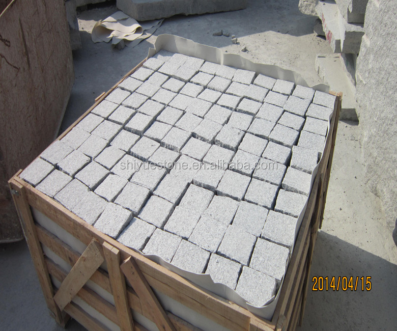 Chinese Wholesale Flamed Grey Granite Landscaping Stone