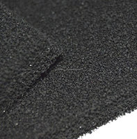 Anti bacterial Activated Carbon Filter Foam Sponge for absorbing smells