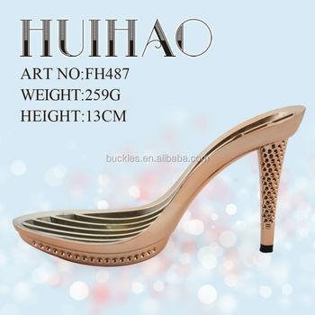 parts of a high heel shoe