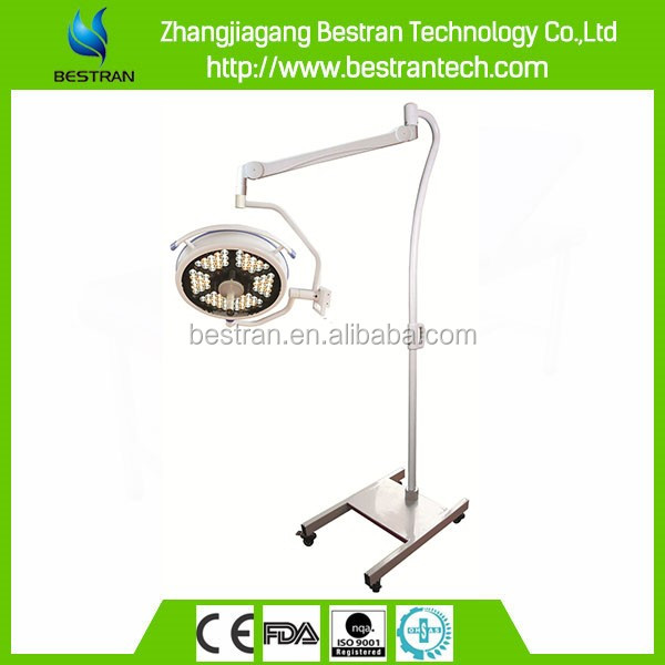 BT-LED500BS CE ISO high quality hospital mobile surgical led operating lamp