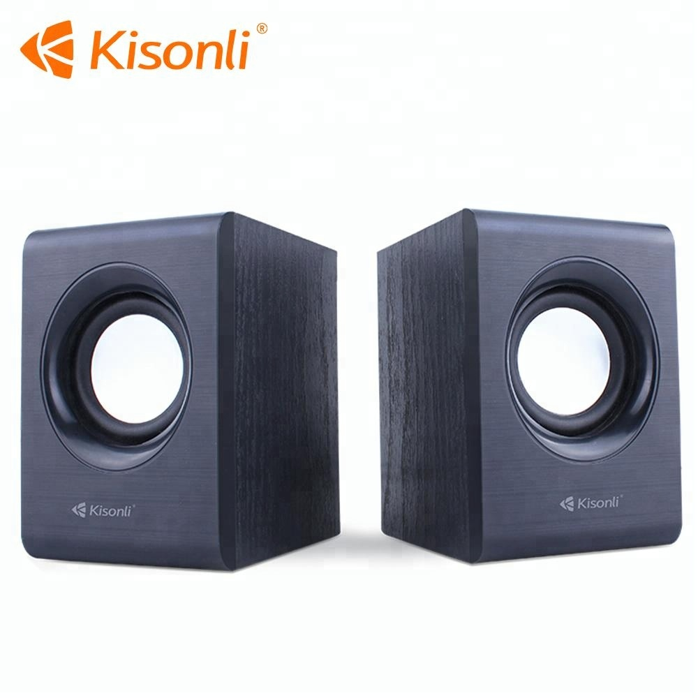 Kisonli portable computer stage speakers woofer for home theater karaoke box