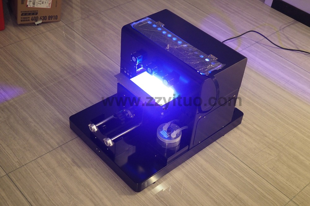 A4 led Small Size Manual UV Flatbed Printer for Plastic Phone Case