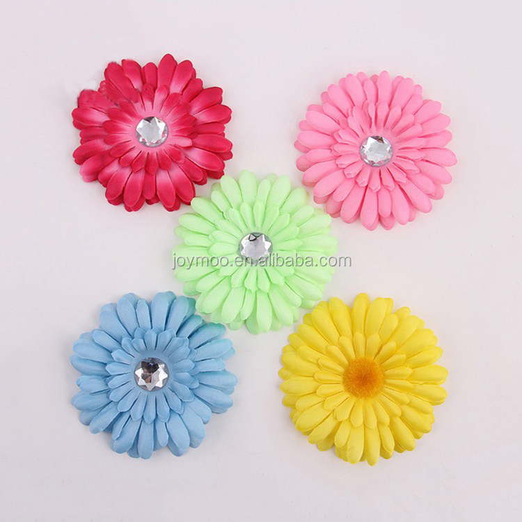 Manufacturer wholesale Customized Color 11.5cm Handmade Fabric Chrysanthemum