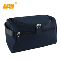 travel fashion man waterproof nylon hang toiletry cosmetic bag