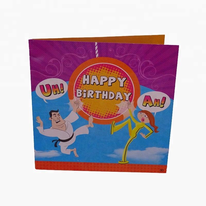 OEM High Quality Free Samples Custom Video Greeting Card Music Wedding And Happy Birthday