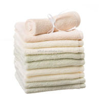 Promotion baby bamboo washcloth, bamboo clean towel,organic baby towel for gift