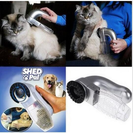 NEW Cordless Dog Cat Vacuum Collect Hair <strong>Pet</strong> grooming Shed Pal