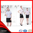 2018 high quality wholesale factory price newest design hotel maids uniform